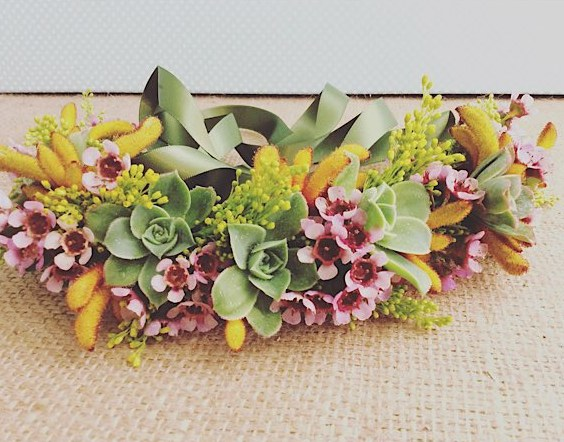 Half Flower Crown - A Touch of Class Florist