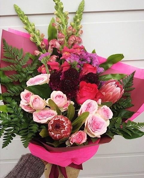 Florist Choice Pink Bouquet Deluxe Value
