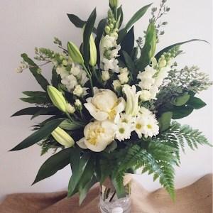 Simplicity Vase Arrangement Deluxe Value - A Touch of Class Florist