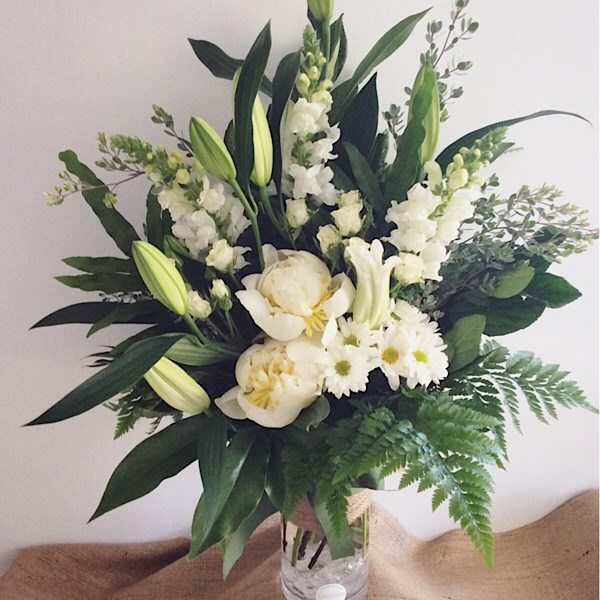 Simplicity Vase Arrangement Deluxe Value - A Touch of Class Florist