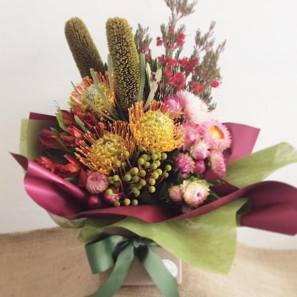 Native Box Arrangement 3 - A Touch of Class Florist
