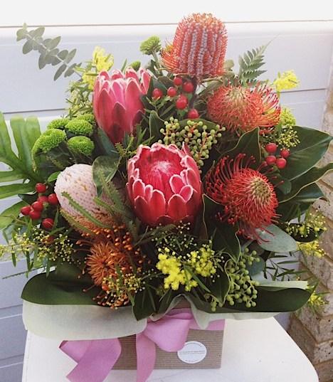 Native Box Arrangement 4 - A Touch of Class Florist