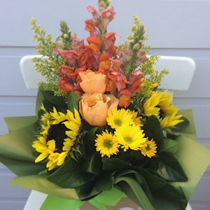 Sunshine Box Arrngement - A Touch of Class Florist
