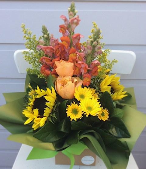 Sunshine Box Arrngement - A Touch of Class Florist