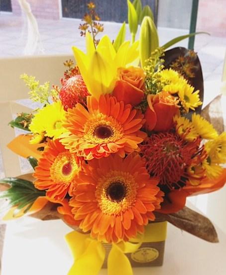 Florist Choice Bright Arrangement 2, Deluxe value- A Touch of Class Florist