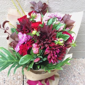 Celebration Hand-tied Bouquet - A Touch of Class Florist