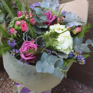 Compact Posy Bouquet - A Touch of Class Florist