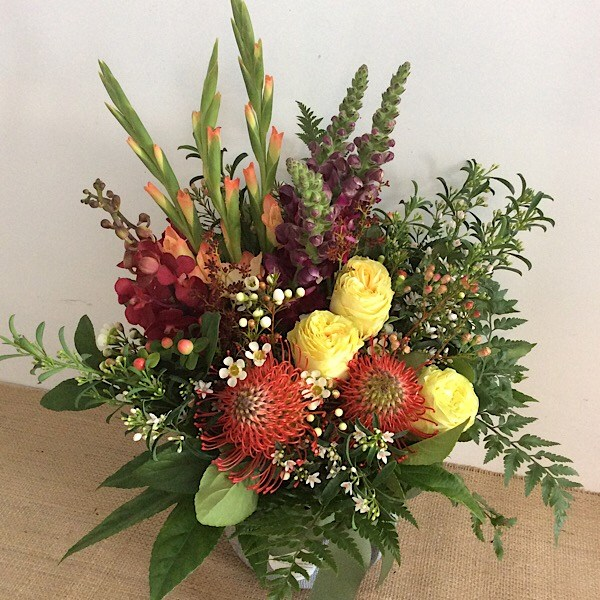 Easy Tiger Arrangement - A Touch of Class Florist