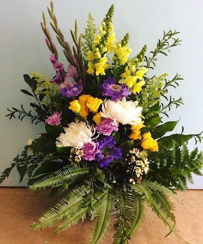 Traditional Formal Arrangement - A Touch of Class Florist
