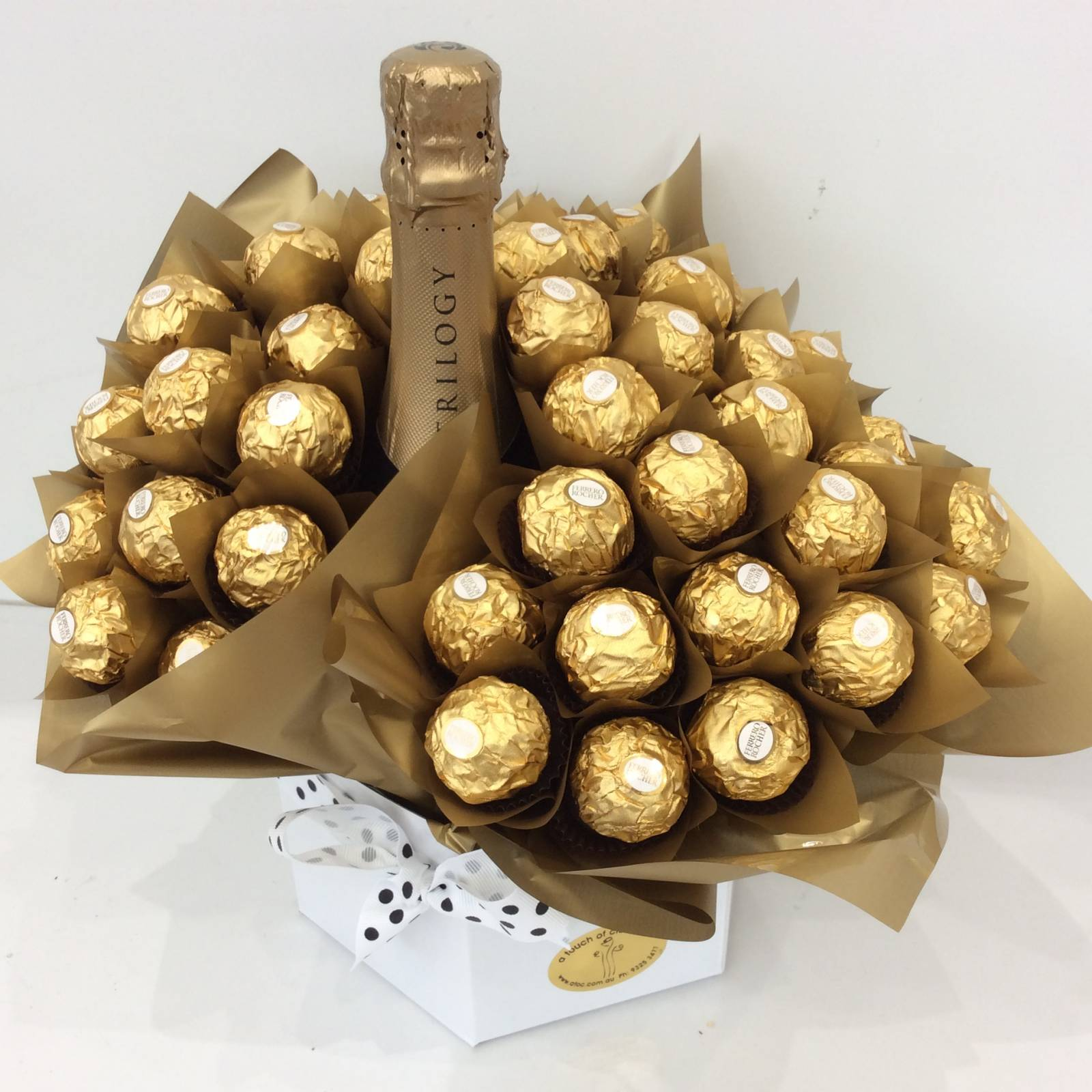Luxury Ferrero Rocher Chocolate Bouquet • A Touch of Class Florist