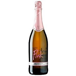 a 750ml of pink sparkling wine