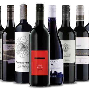 a selection of australian red wines