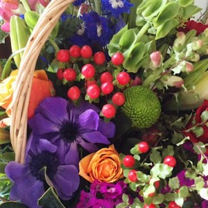 Basket of Joy Arrangement - A Touch of Class Florist
