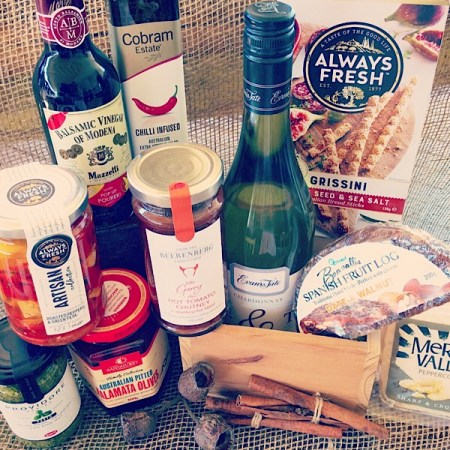 Artesian Hamper A gourmet gift Hamper with sparkling wine.- A Touch of Class Florist