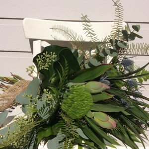 Textural Foliage bouquet