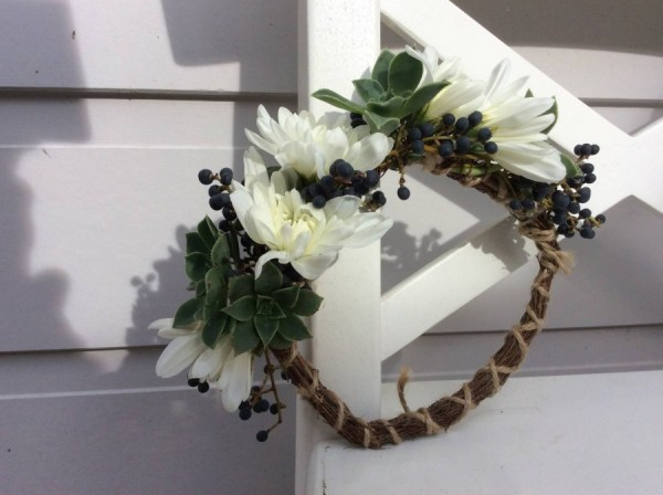 Floral Dog Collar - A Touch of Class Florist