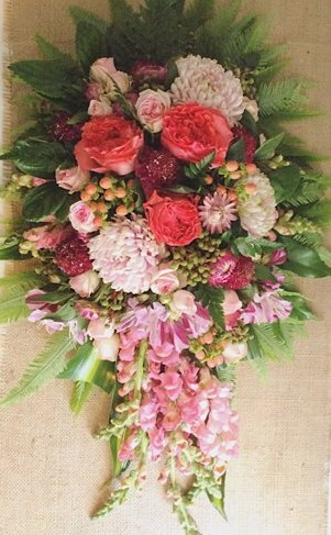 Sympathy Tribute In Pink - Deluxe Value - A Touch of Class Florist