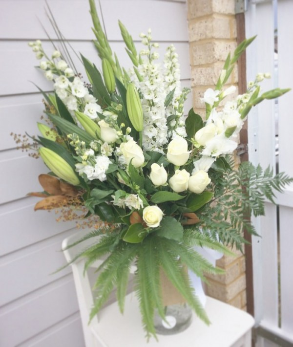 Simplicity Vase Arrangement - A Touch of Class Florist