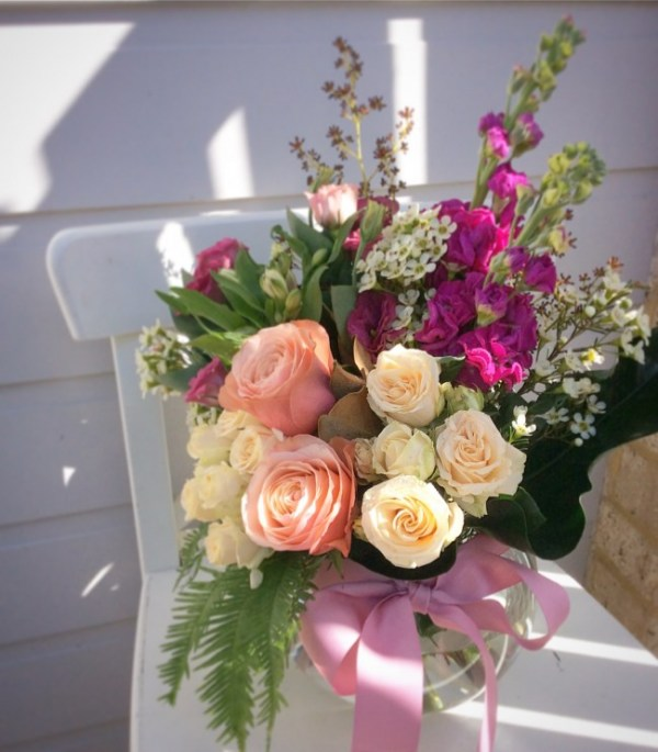 A Feminine Fishbowl - A Touch of Class Florist