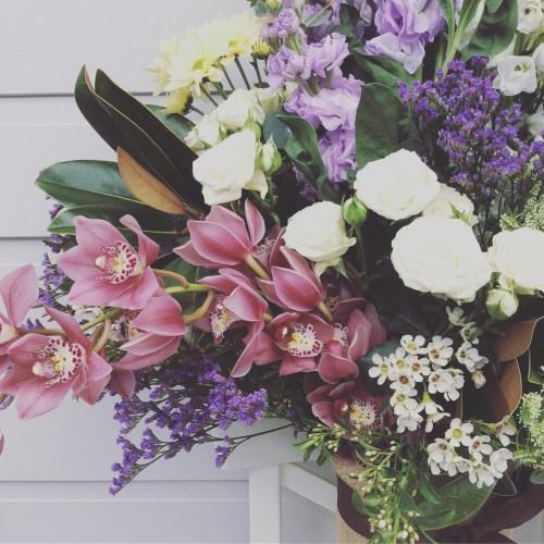 A Deluxe Garden Vase Arrangement- A Touch of Class Florist