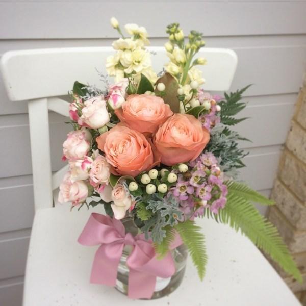 A Cute Jam Jar - A Touch of Class Florist
