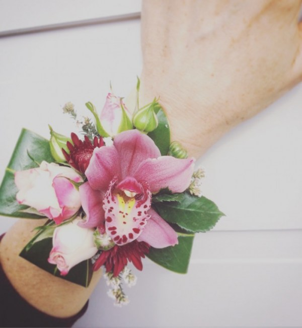 Cymbidium Wrist Corsage Perth- A Touch of Class Florist