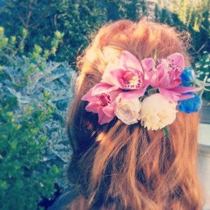 Fresh Floral Hairpiece