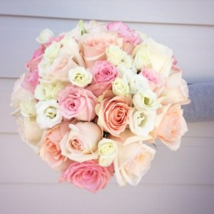 A Pastel rose bouquet