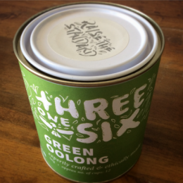 Threeonesix Green Oolong Tea