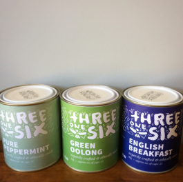 Three One Six Tea Range for Gift Hampers