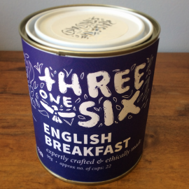 Threeonesix English breakfast tea