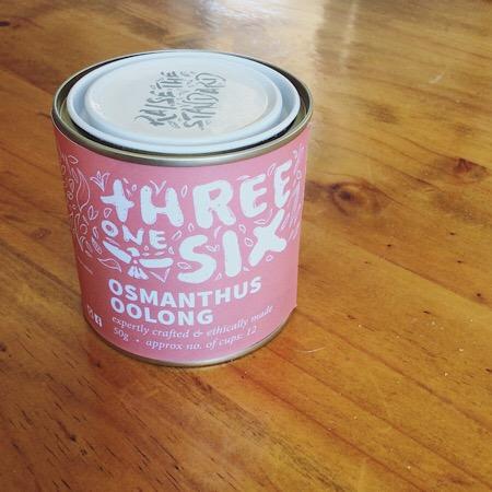 Threeonesix Osmanthus Oolong Tea 50g