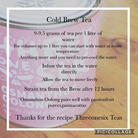Threeonesix Cold Tea Brew Recipe