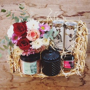 Luxury bath time hamper filled with all the items needed to relax and pamper yourself