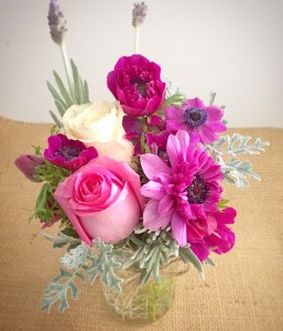 Vibrant Cut Flowers in a Vase - A Touch of Class Florist