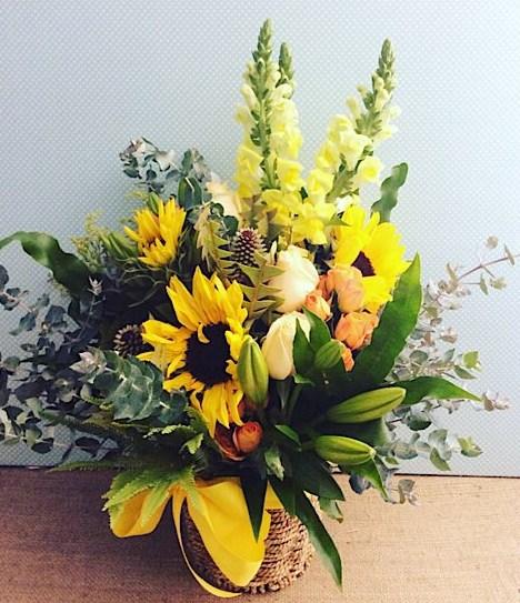 Radiance Basket Arrangement - A Touch of Class florist