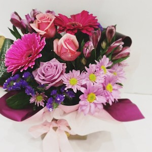 Box of Fun Arrangement - A Touch of Class Florist