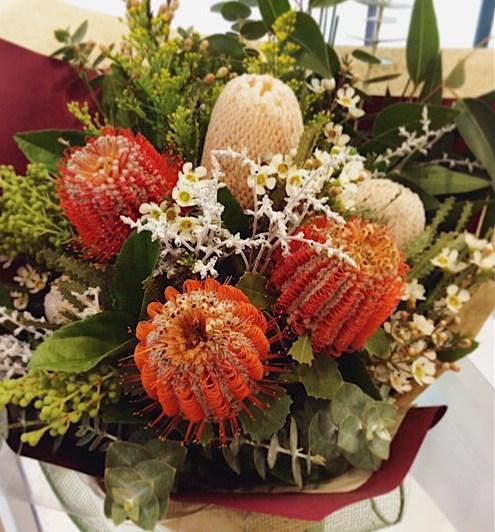 Wild Flower Hand-Tied Bouquet - A Touch of Class Florist