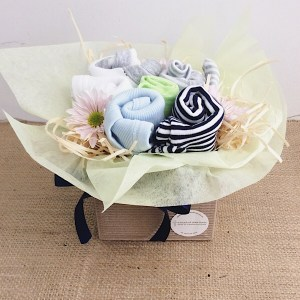 Baby Blooms in Cool Tones - A Touch of Class Florist