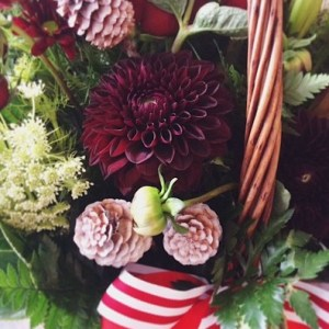 Festive Season Basket Arrangement - A Touch of Class Florist