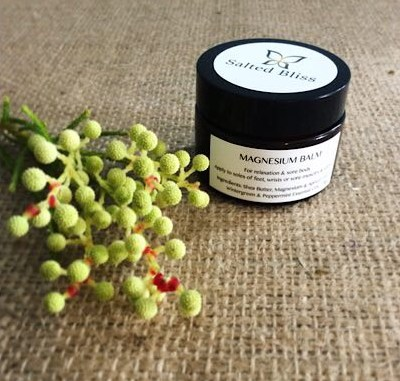 Salted Bliss Magnesium Balm - A Touch of Class Florist