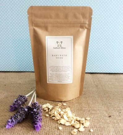 Salted Bliss Baby Bath Soak - A Touch of Class Florist