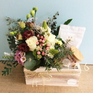 Blissful Box Hamper -A Touch of Class Florist