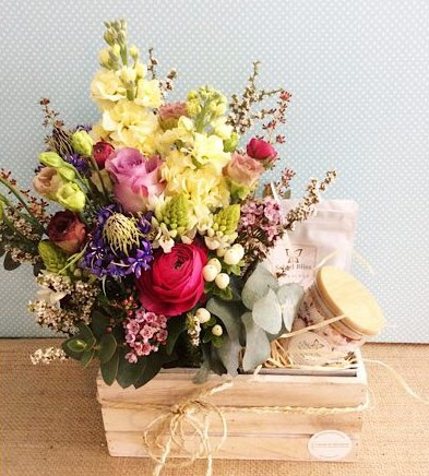 Blissful Box Hamper - A Touch of Class Florist