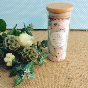 Salted Blis Bath Salts in Sandalwood, Rose and Lavender