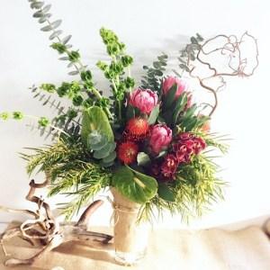 Corporate Vase Arrangement - A Touch of Class Florist