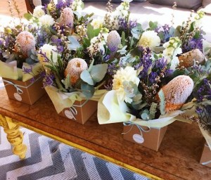 Cute Mixed Boxed Arrangements Ready to go to a Function - A Touch of Class Florist