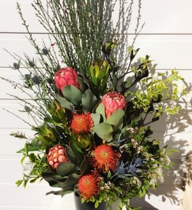Wildflower Arrangement for a corporate function - A Touch of Class Florist