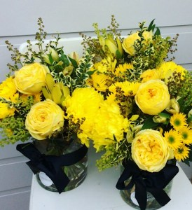 A Bright and Cheerful Corporate Function - A Touch of Class Florist