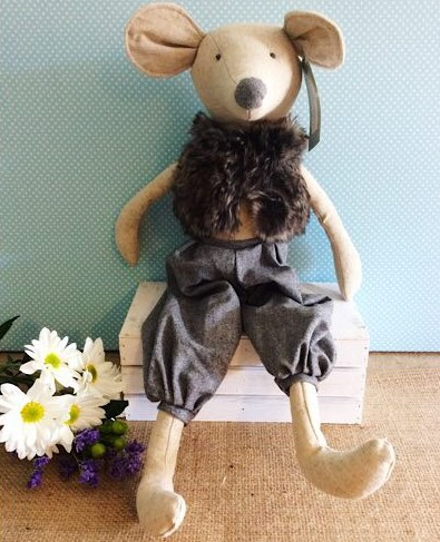 Moshie Mouse Nana Huchy Soft Toy - A Touch of Class Florist